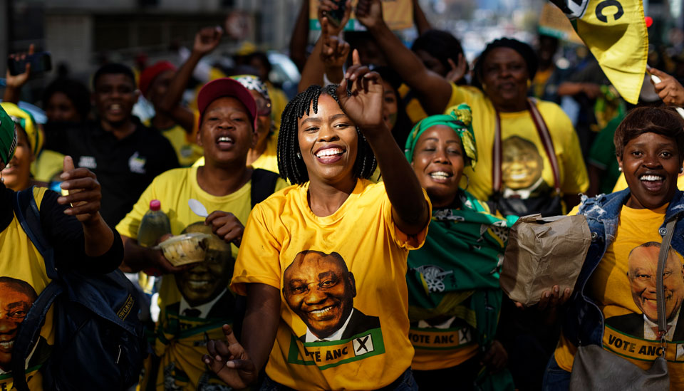 No blank check for ANC after election win in South Africa
