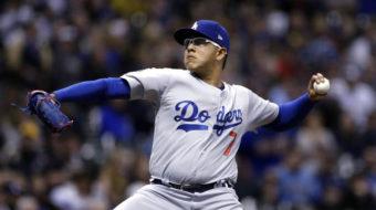 Dodgers' pitcher arrested for allegations of domestic assault