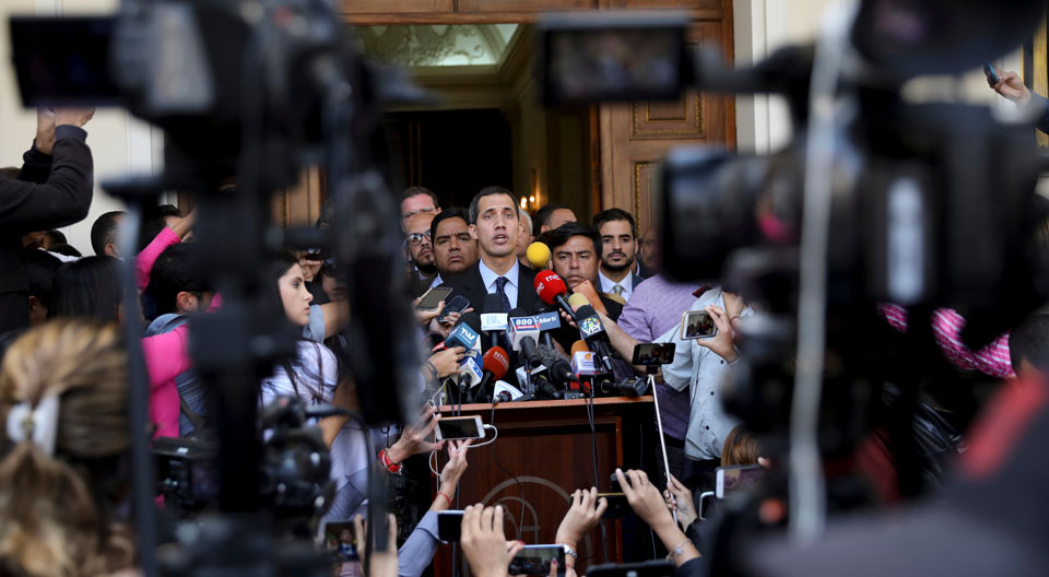 Propaganda: U.S. media's role in the Venezuela coup that never was