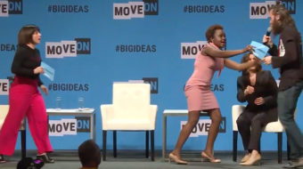 Black women display leadership during presidential forum attack