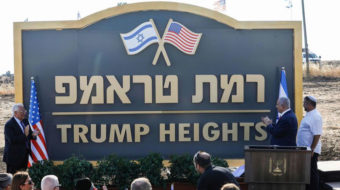 Welcome to Trump Heights, Israel's newest illegal town