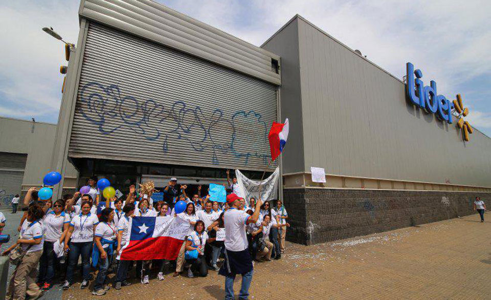 Walmart workers in Chile win pay raise after six-day strike