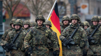 U.S. and NATO warmakers find some willing partners in Germany