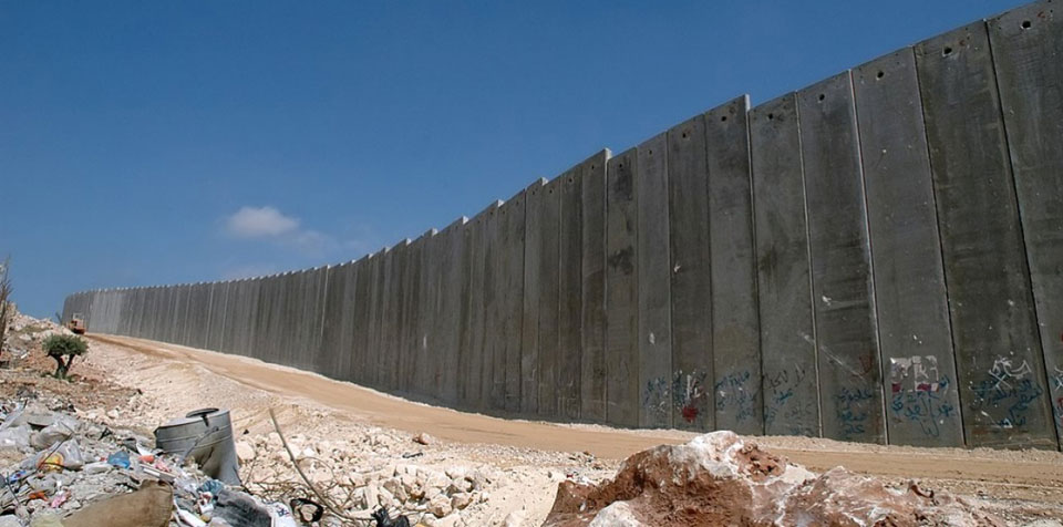 Israel's illegal apartheid wall turns 15