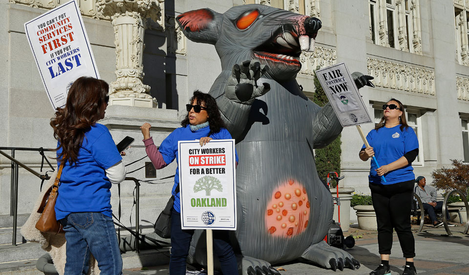 Federal judge frees labor's rat from Trump NLRB's trap