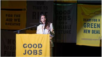 Tactics in the fight for the Green New Deal