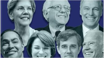 At NEA, Democratic candidates weave pro-teacher messages into campaign themes
