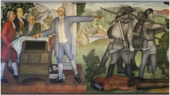 Taking sides and telling the truth: The hidden history of the Arnautoff mural