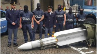 Italian fascists found with weapons stockpile and Nazi material