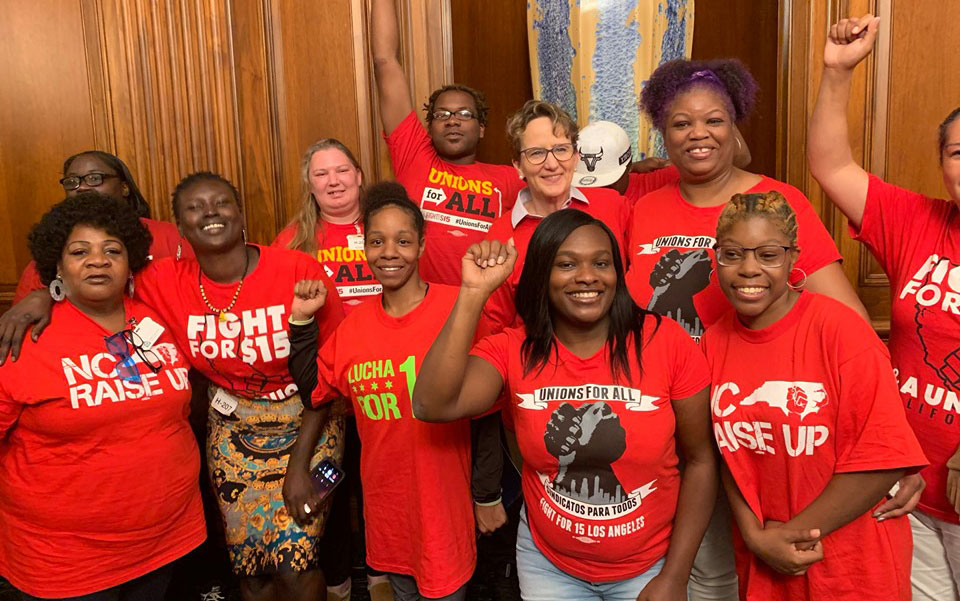 $15 by 2025: House OK of minimum wage hike cheers women's groups, unions
