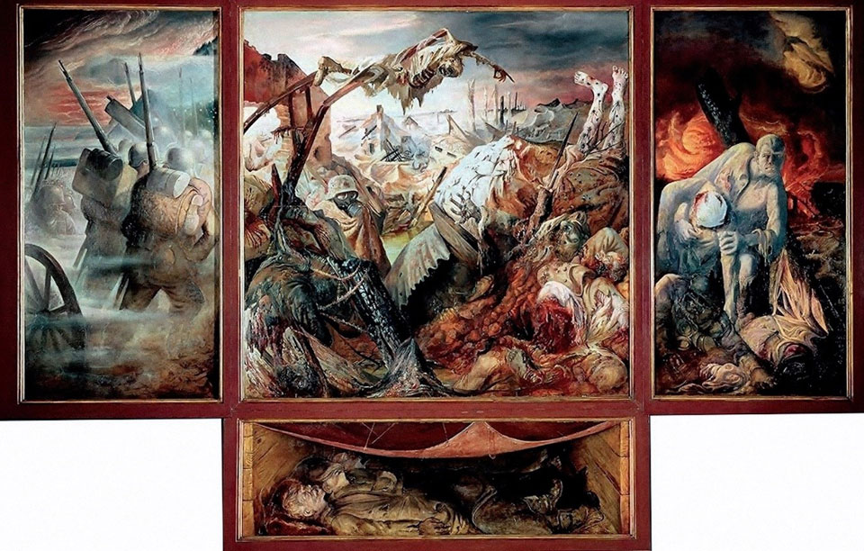 The anti-fascist art of Otto Dix and George Grosz