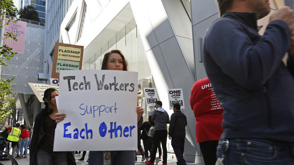 Growing backlash against unethical tech, employees of Big Tech are speaking out