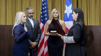Wanda Vásquez, Puerto Rico's third governor in a week, facing criticism