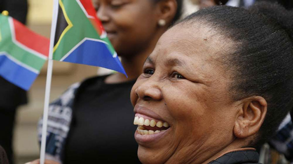 South Africa bans old racist flag as hate speech