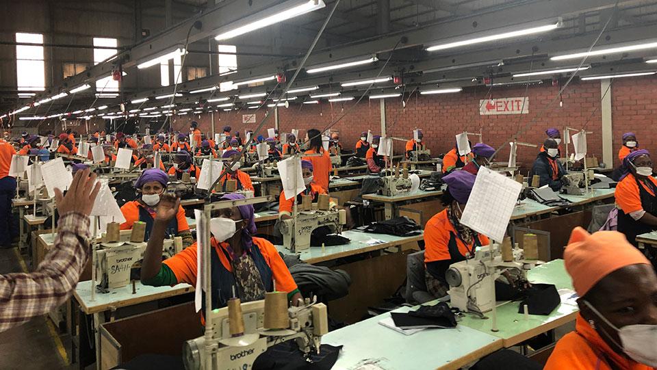 Groups force Lesotho clothing factories owner to end gender-based violence