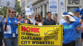 Oakland city workers rally to fill vacancies, win fair pay, and uphold rights