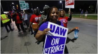 STRIKE: General Motors forces 49,000 auto workers onto the picket line