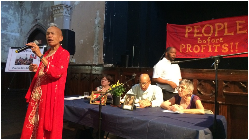 Baltimore crowd celebrates 100 years of the Communist Party USA