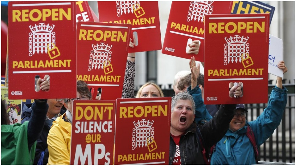 Resignation calls grow after U.K. Supreme Court rules Johnson's parliament suspension illegal