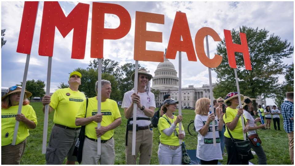 Majority support impeachment probe as White House cover-up is exposed