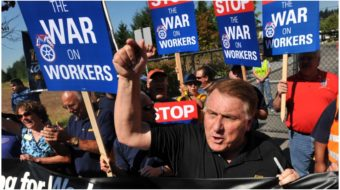 On pensions and other issues, Democratic hopefuls disappoint Teamsters' Hoffa—so far