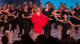 Reverencia a la eterna 'Giselle', Alicia Aloso