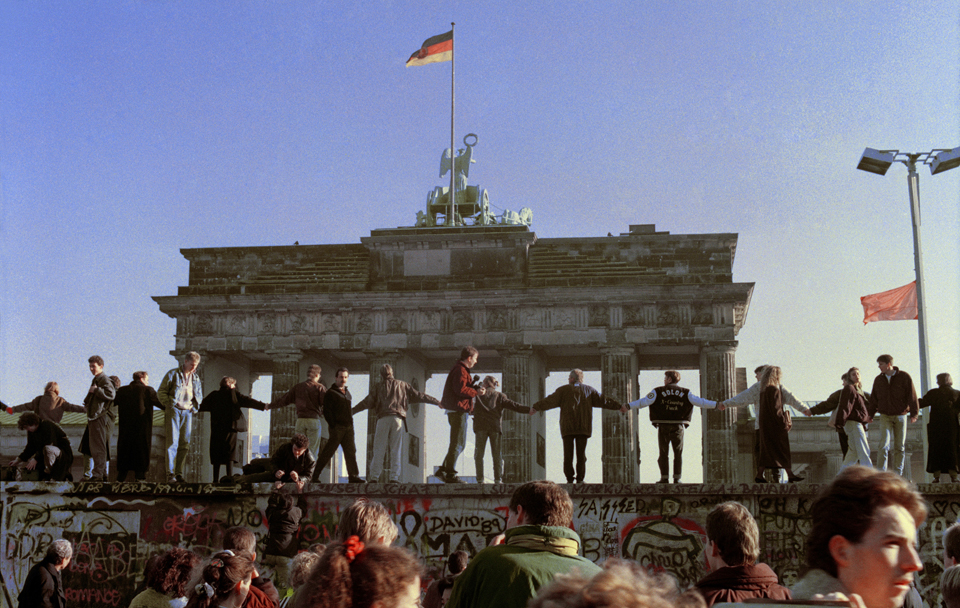 """Thirty years later the Berlin Wall is again being """"remembered"""""""