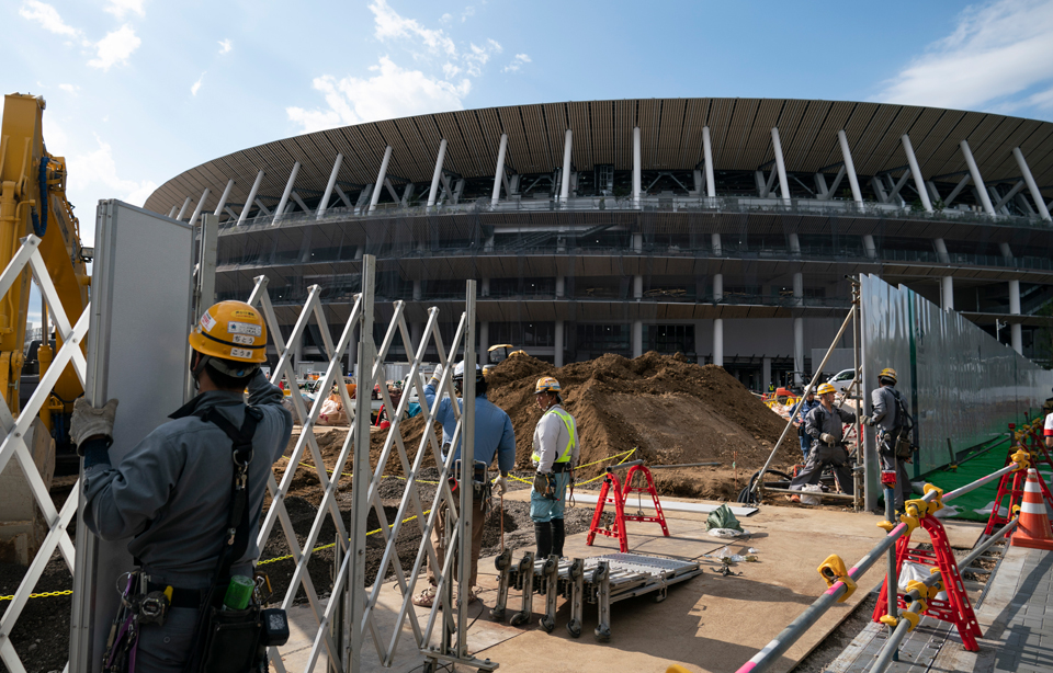 Death by overwork: Building trades union demands safety inspections at Tokyo Olympics
