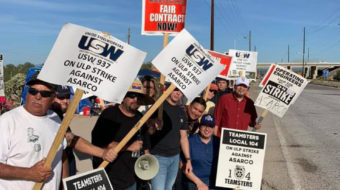 Tucson: Copper miners on strike in Arizona