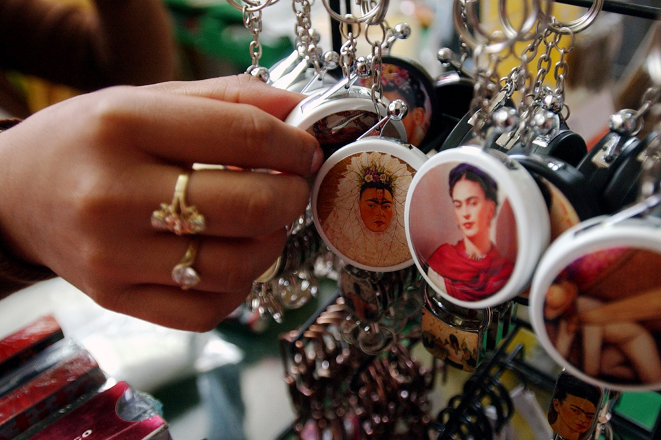 Selling Frida Kahlo: Commodifying an artist in Mexico City and the world