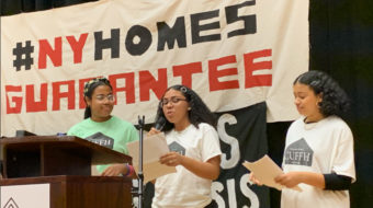 New York's public and private housing tenants join forces