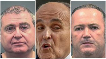 Giuliani's mobster pals arrested on campaign finance violations