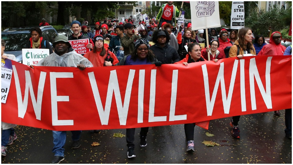Strike wave: Unity on the picket line and at ballot box