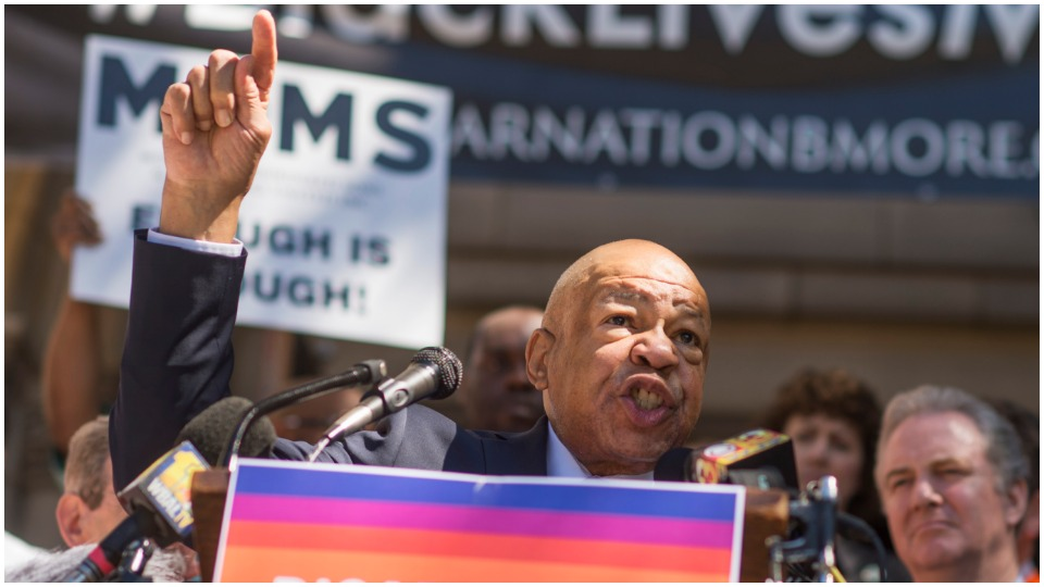 """Stand up for this democracy"": My congressman, Elijah Cummings"