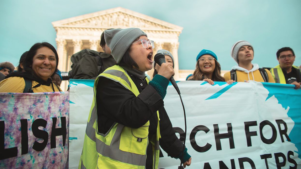 Dreamers go to Supreme Court seeking to save DACA from Trump