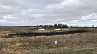 Oil pipeline spill ravages North Dakota
