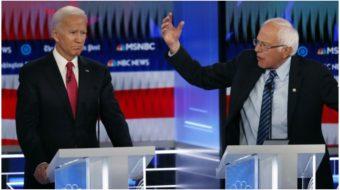 At Democratic debate, all candidates agree: Trump must go