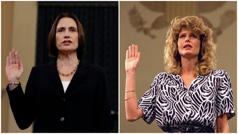 Fiona Hill and Fawn Hall: Witnesses to White House crimes present and past
