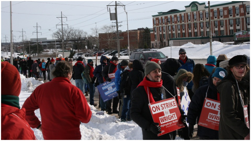 Organizing to win: Lessons of Ohio's Wright State University strike of 2019
