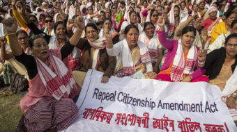Indian gov't bans protests as resistance to Islamophobic law escalates