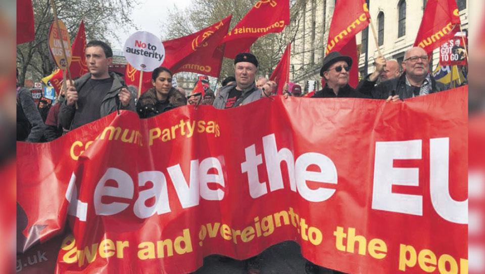"""Britain's Communist Party blames Labour's """"Stop Brexit"""" stance for election defeat"""