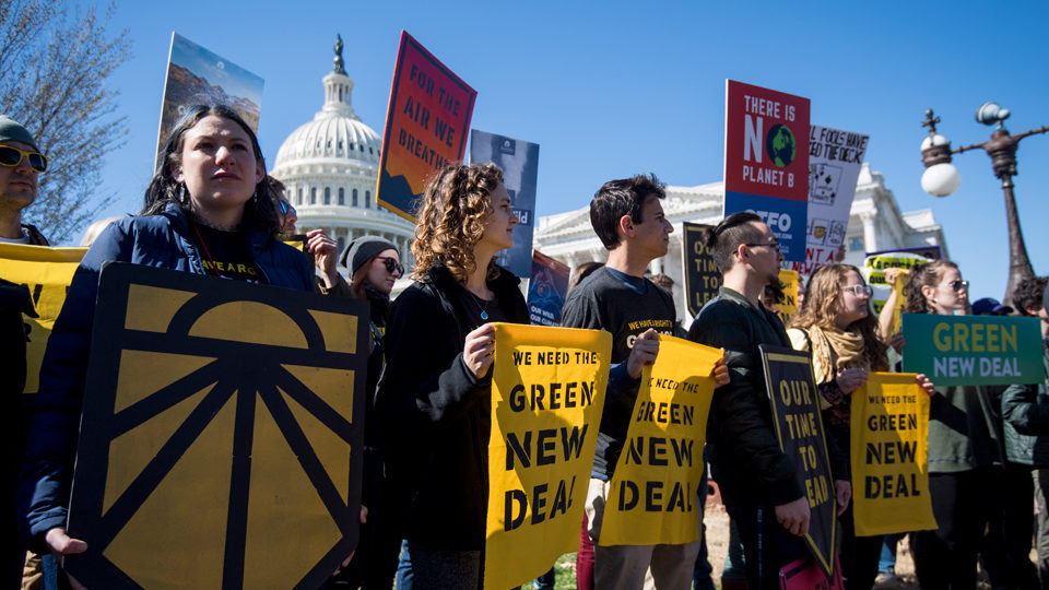 Winning the Green New Deal on the road toward socialism