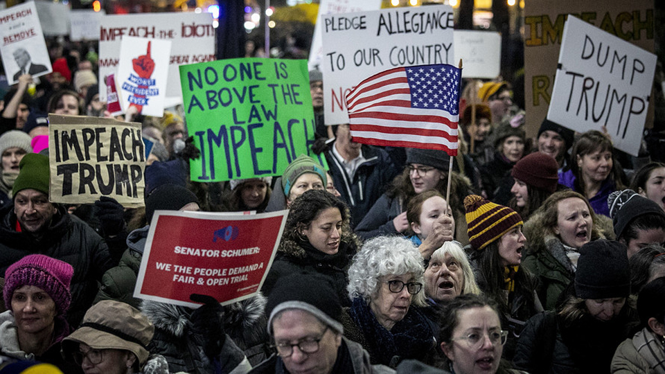 Hundreds of thousands demand impeachment, removal of Trump