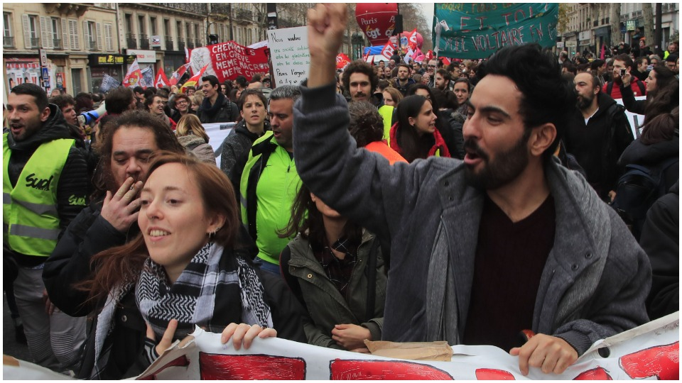 Person of the Year: The French worker on strike