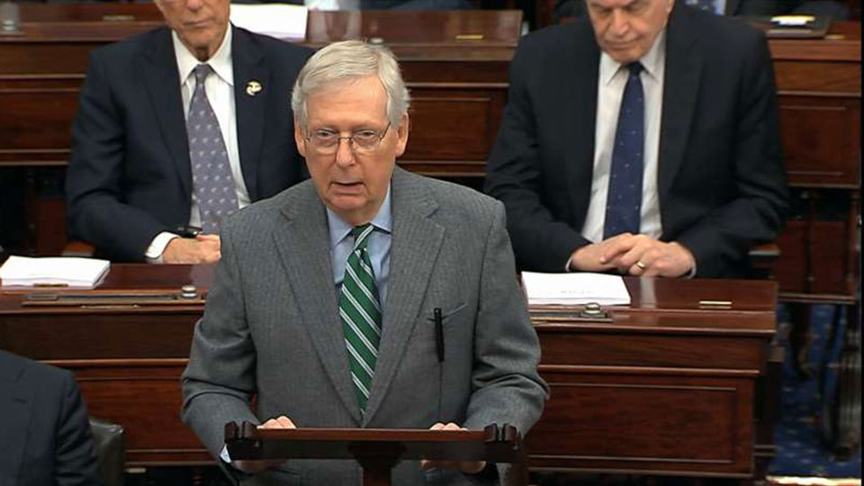 McConnell impeachment rules a travesty against the Constitution and the people