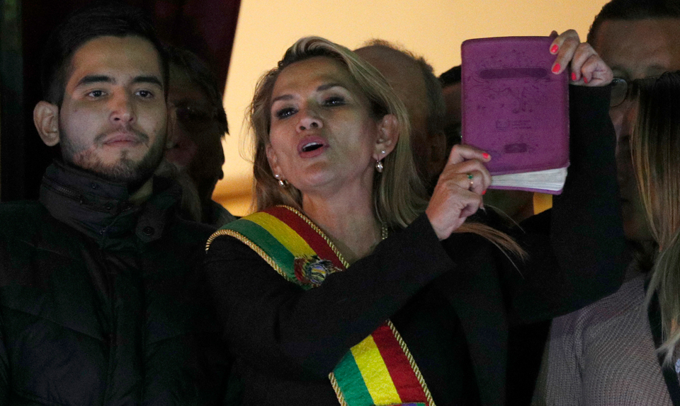 "Interim Bolivian president Añez calls Indigenous citizens ""savages"""