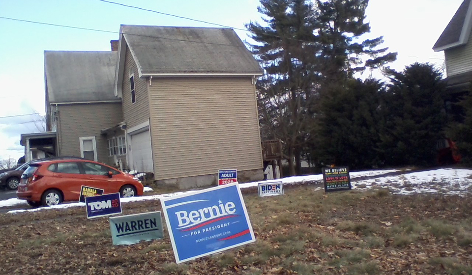 Interviews with New Hampshire voters show Bernie, Biden the favorites
