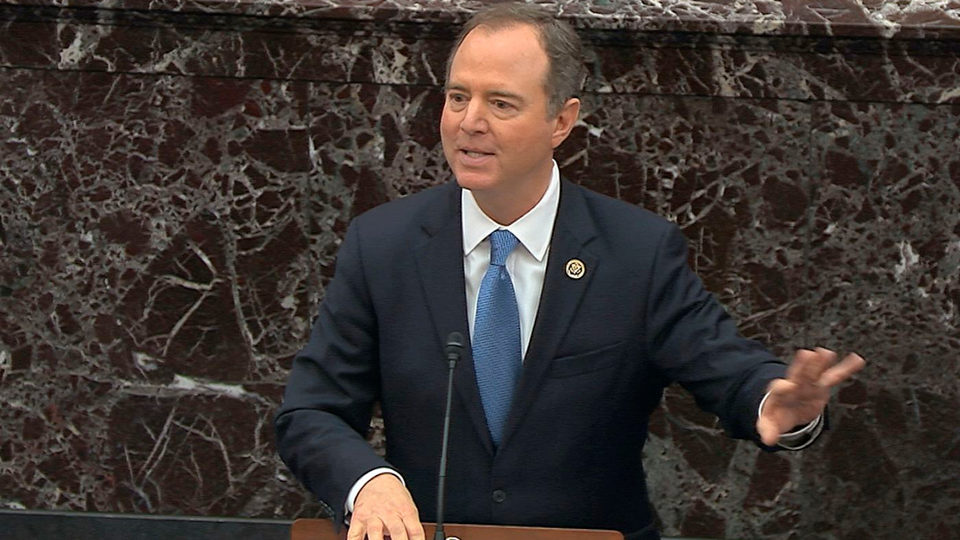 """Schiff on Trump impeachment: """"If right doesn't matter we're lost"""""""