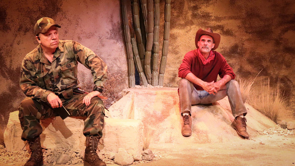 'Nowhere on the Border,' an engrossing play on our conscience