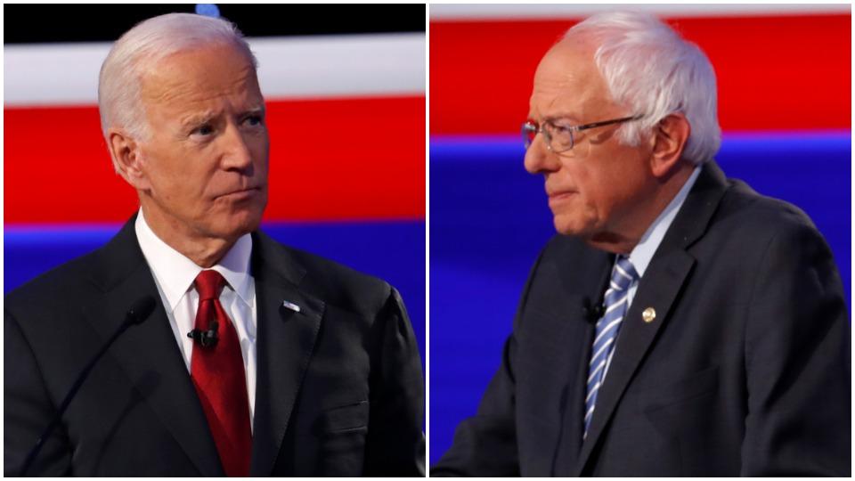 Sanders criticizes Biden's record on the Mideast